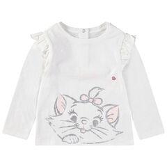 Μακρυμάνικη μπλούζα με στάμπα τη Μαρί από τις Αριστογάτες της Disney