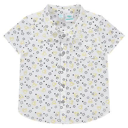 Κοντομάνικο πουκάμισο με διάσπαρτα αστεράκια