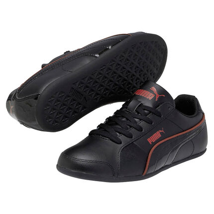 PUMA Myndy - Baskets noires liseré rouge