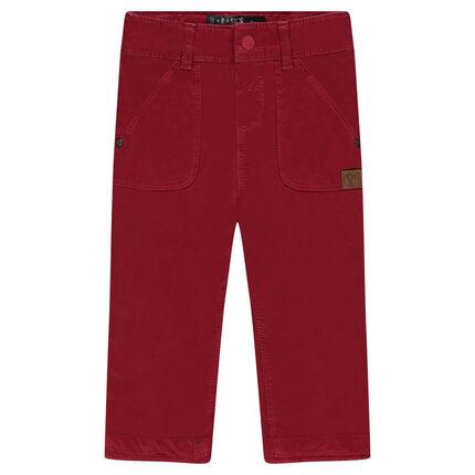 Παντελόνι από τουίλ με φόδρα ζέρσεϊ