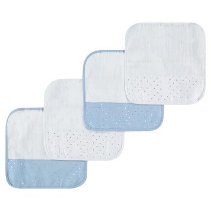 Σετ 4 πετσέτες για το στόμα.