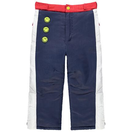 Αδιάβροχο παντελόνι του σκι με σήματα Smiley