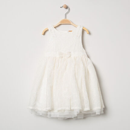 Αμάνικο φόρεμα από δαντέλα και τούλι για ειδικές περιστάσεις