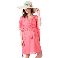 Καπέλο με όψη ψάθας και φλοράλ κορδέλα