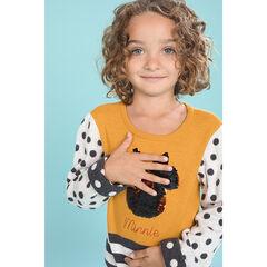 Pull en tricot à motifs jacquard et Minnie en sequins magiques Disney