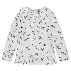 Παιδικά - Τουνίκ βουάλ με πουλάκια