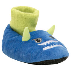 Chaussons peluche forme monstre