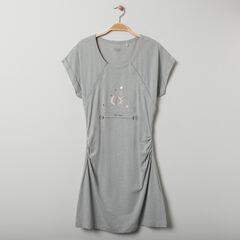 Chemise de nuit de grossesse et d'allaitement print astrologie , Prémaman