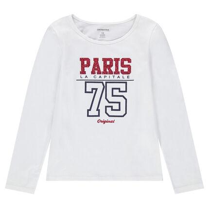 Παιδικά - Μακρυμάνικη μπλούζα με τυπωμένο μήνυμα