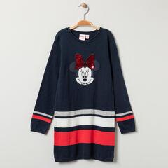 Φόρεμα μακρυμάνικο Minnie Disney και  μαγικές παγιέτες για κορίτσι , Orchestra