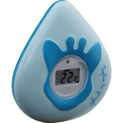Thermomètre de bain digital - Bleu