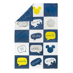 Edredon en popeline 80x125 cm Disney motif Mickey