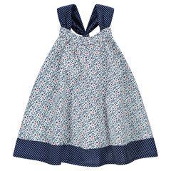 Αμάνικο φόρεμα με λουλουδάκια ... 508d5ead227
