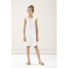 Παιδικά - Αμάνικο φόρεμα από δαντέλα