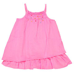 Φλούο φόρεμα με βολάν