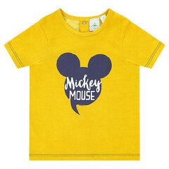 Κοντομάνικη μπλούζα Disney με στάμπα Μίκυ