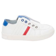 Αθλητικά παπούτσια με αυτοκόλλητα velcro και φάσες σε χρώμα που κάνει αντίθεση σε νούμερα 24 έως 27