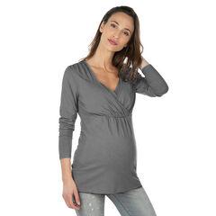 Μακρυμάνικη μπλούζα εγκυμοσύνης και θηλασμού