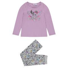 Σύνολο από ζέρσεϊ με μπλούζα με στάμπα My Little Poney και παντελόνι ©2017 Hasbro