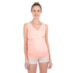Αμάνικη μπλούζα εγκυμοσύνης και θηλασμού για το σπίτι , Prémaman