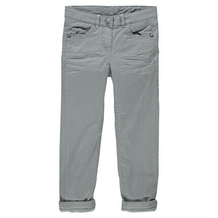 Junior - Παντελόνι slim με επένδυση μικροφλίς