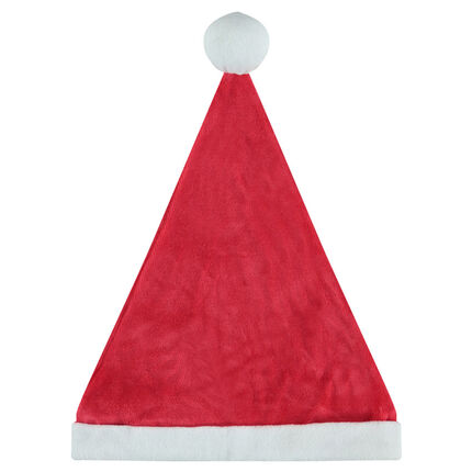 Βελούδινος χριστουγεννιάτικος σκούφος
