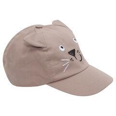 Καπέλο με ανάγλυφα αυτάκια
