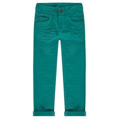 Παντελόνι από τουίλ σε γραμμή slim με τσαλακωμένη όψη