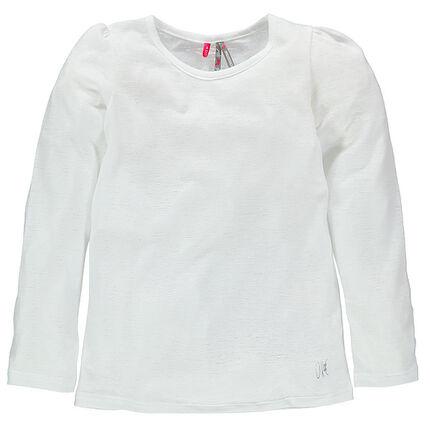 Junior - Tee-shirt manches longues aspect dévoré