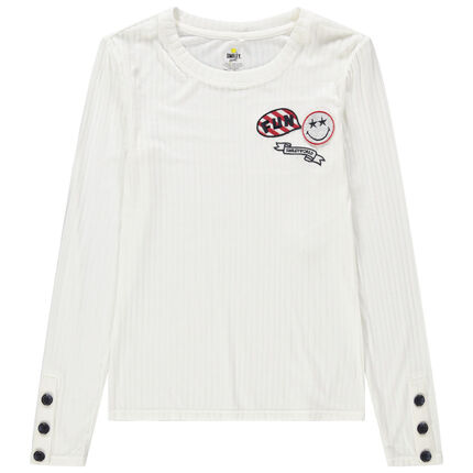 Μακρυμάνικη μπλούζα Smiley