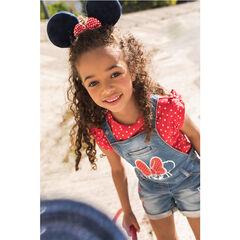 Τζιν κοντή σαλοπέτα με στάμπα Minnie της Disney