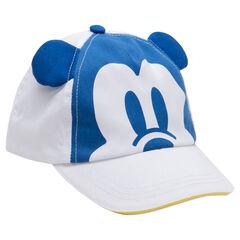 Καπέλο τζόκεϊ Disney από τουίλ με τύπωμα και αυτάκια Mickey ©Disney