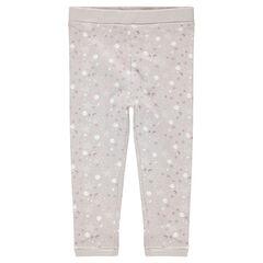 Παντελόνι ζέρσεϊ με αστεράκια και φεγγάρια σε όλη την επιφάνεια