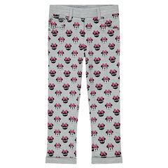Εμπριμέ εφαρμοστό παντελόνι με την Μίνι της Disney