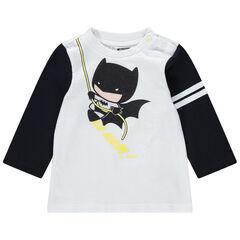 Μακρυμάνικη μπλούζα από βιολογικό βαμβάκι με στάμπα Batman της Warner