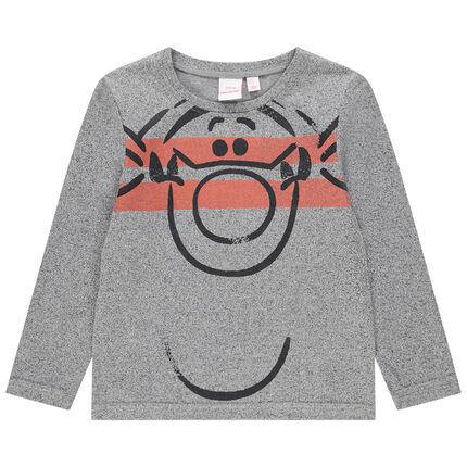 Μακρυμάνικη μπλούζα από ζέρσεϊ με στάμπα τον Τίγρη της Disney