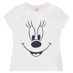 Κοντομάνικη μπλούζα με στάμπα τη Μίνι της Disney