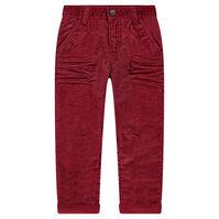Παντελόνι από βελούδο κοτλέ σε ίσια γραμμή