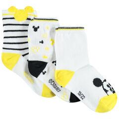 Lot de 3 paires de chaussettes assorties Mickey Disney , Orchestra