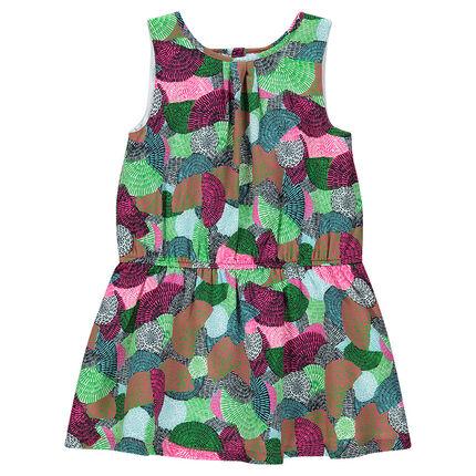 Πολύχρωμο φόρεμα με σχέδια