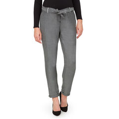 Ίσιο παντελόνι εγκυμοσύνης με τσέπες και αφαιρούμενη ζώνη