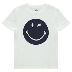 Παιδικά - Κοντομάνικη μπλούζα από ζέρσεϊ με στάμπα ©Smiley