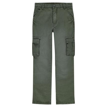 Παιδικά - Μιλιτέρ παντελόνι με τσέπες στα μπατζάκια