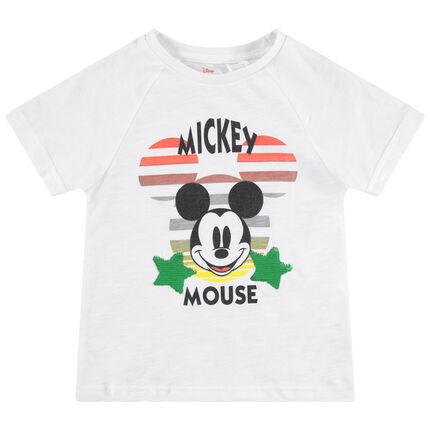 Κοντομάνικη ζέρσεϊ μπλούζα με στάμπα Μίκυ της Disney και μαγικές πούλιες
