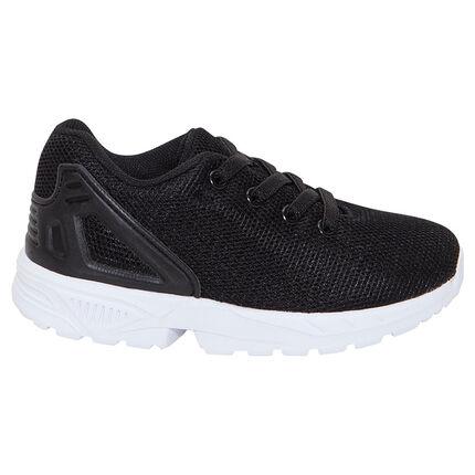 Αθλητικά παπούτσια από δίχτυ με ελαστικά κορδόνια, μεγέθη 28 έως 35