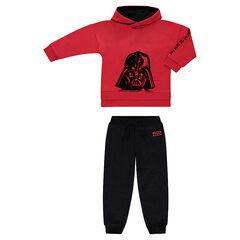 Φόρμα φανελένια δίχρωμη Star Wars™ με στάμπα Dark Vador