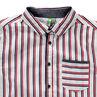 Παιδικά - Κοντομάνικο πουκάμισο με κάθετες ρίγες και τσέπη