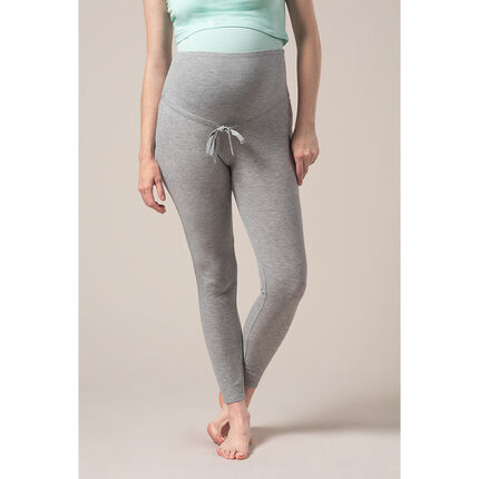 Παντελόνι πιτζάμας για την εγκυμοσύνη με μελανζέ όψη