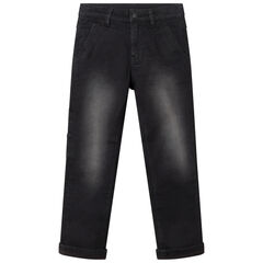 Jeans effet used micro polaire , Orchestra