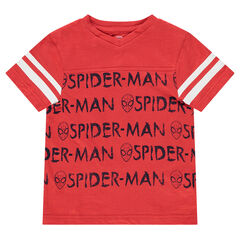 Κοντομάνικη μπλούζα από ζέρσεϊ με μοτίβο Spiderman της ©Marvel